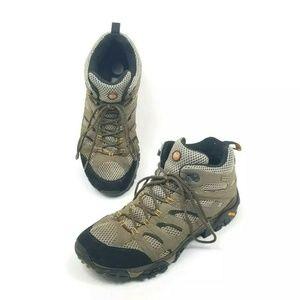 Merrell Moab Mid Goretex Mens Size 11 Hiking Boots